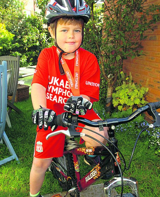 This Is Wiltshire: Tom Blackwood was inspired to ride by his late brother Tim Greatley