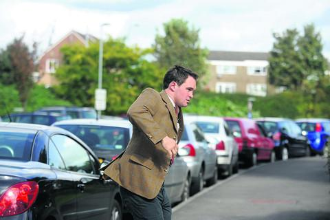 This Is Wiltshire: Stuart Radbourne arrives at court