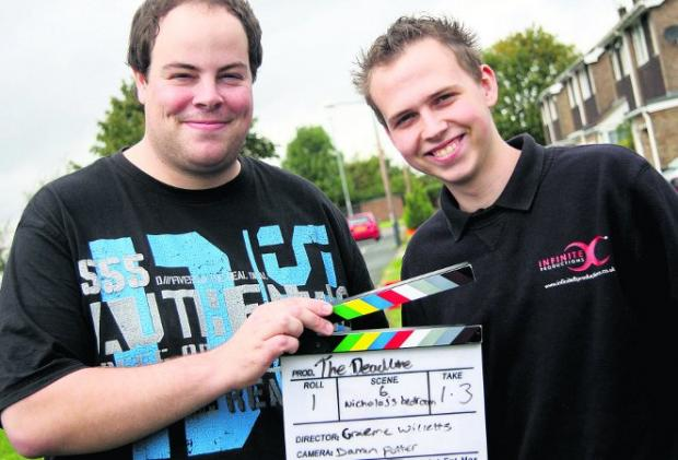 This Is Wiltshire: Lights, camera, action Young film-makers Graeme Willetts and Darren Potter