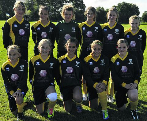 This Is Wiltshire: Melksham United U14 girls beat Bath City 1-0