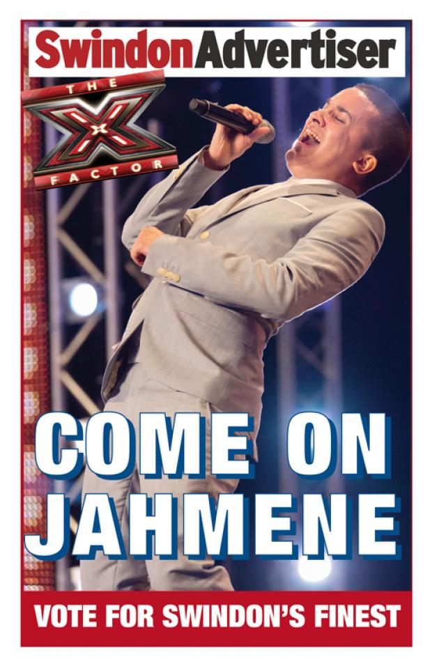 This Is Wiltshire: Download our Jahmene poster and be in with a chance to win