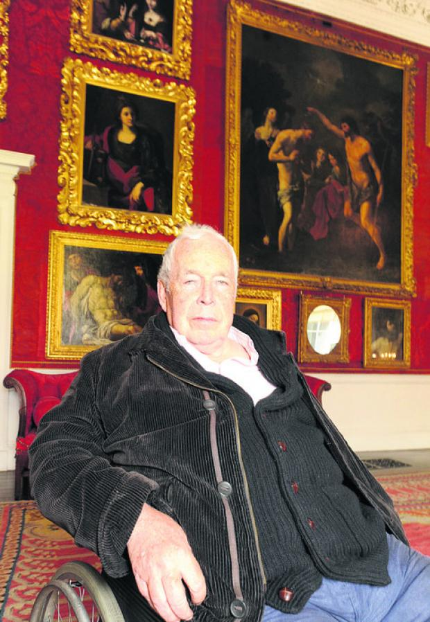 This Is Wiltshire: A RENOWNED painter was awarded an honorary doctorate at a ceremony at Corsham Court last Thursday.