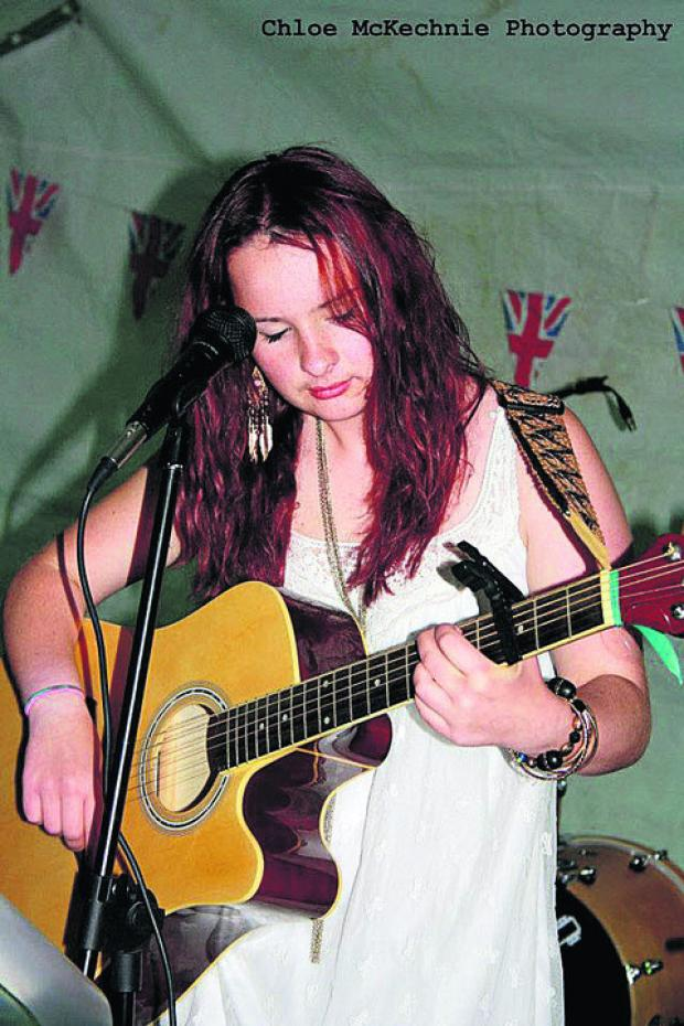 This Is Wiltshire: Singer songwriter Emily McGrory, 17