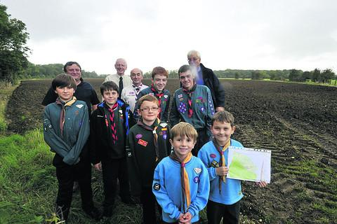 This Is Wiltshire: Scouts buy campsite near West Ashton