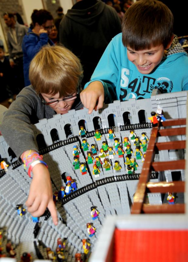 This Is Wiltshire: Force is strong with fans at Lego show