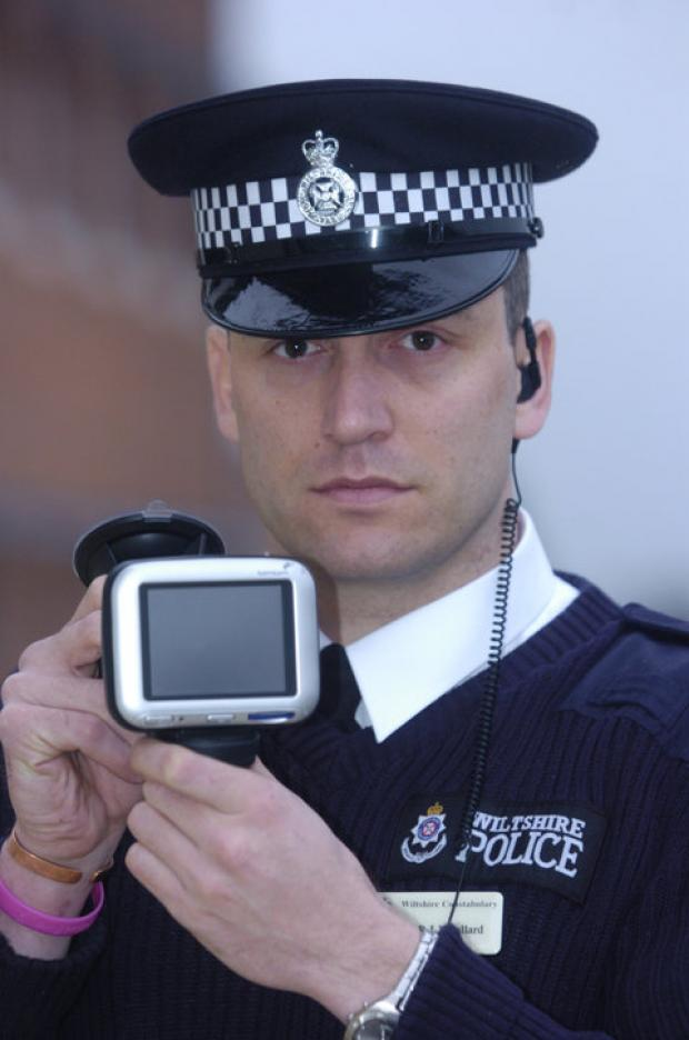 This Is Wiltshire: PC Paul Wollard, who used his work computer to message a child molester and run checks on him