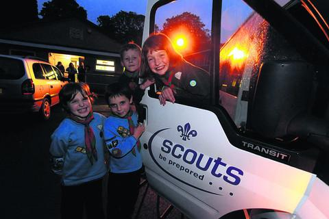 Calne Scouts excited about the possibility of an extension to their hut
