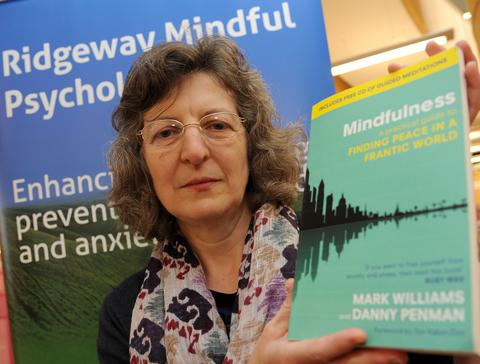 This Is Wiltshire: Liz Gilvin at the Central Library
