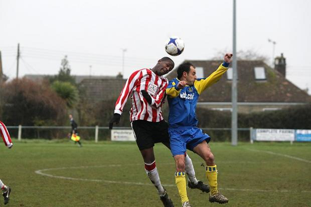 This Is Wiltshire: HELLENIC LEAGUE: Bassett joy at Terry's treble