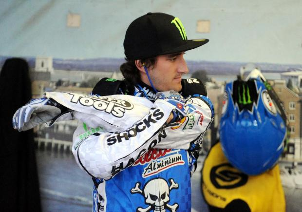 World champion Chris Holder