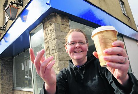 Owner Hadi Brooks is looking forward to opening the new café in Devizes Road