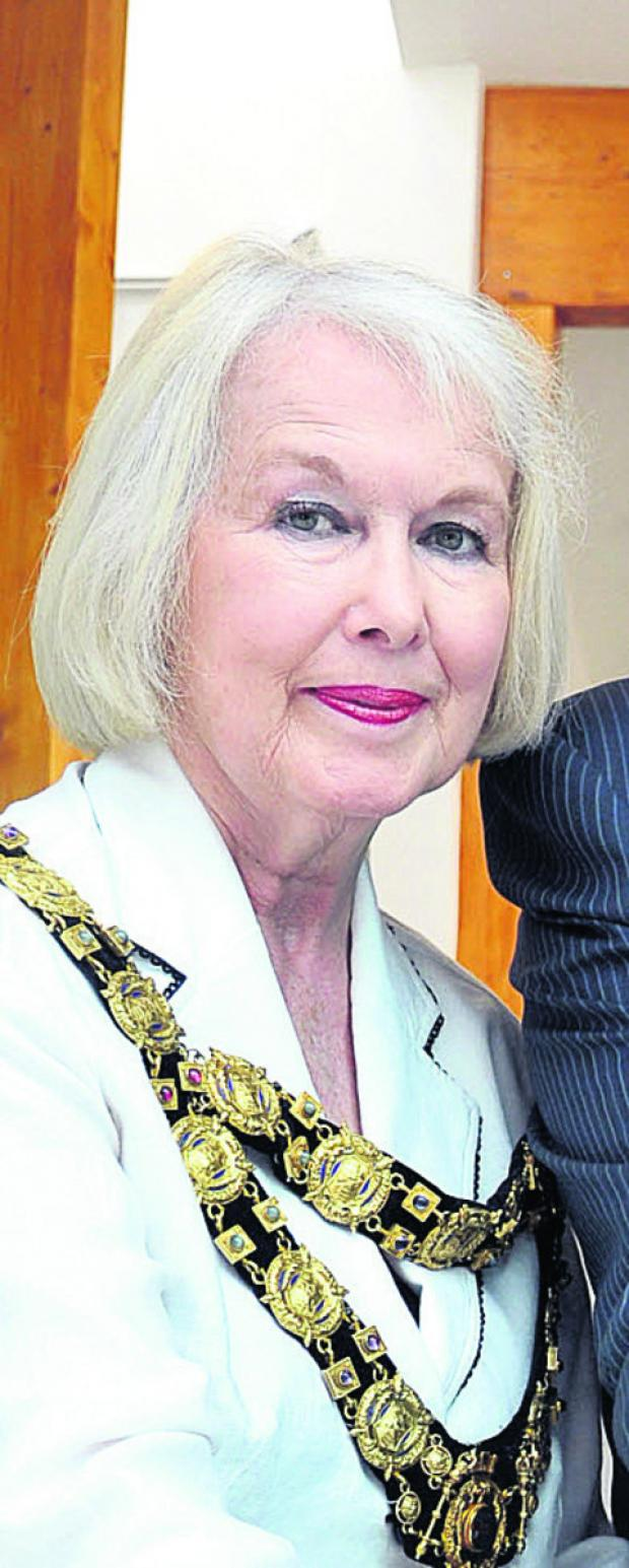 This Is Wiltshire: Mayor Edwina Fogg