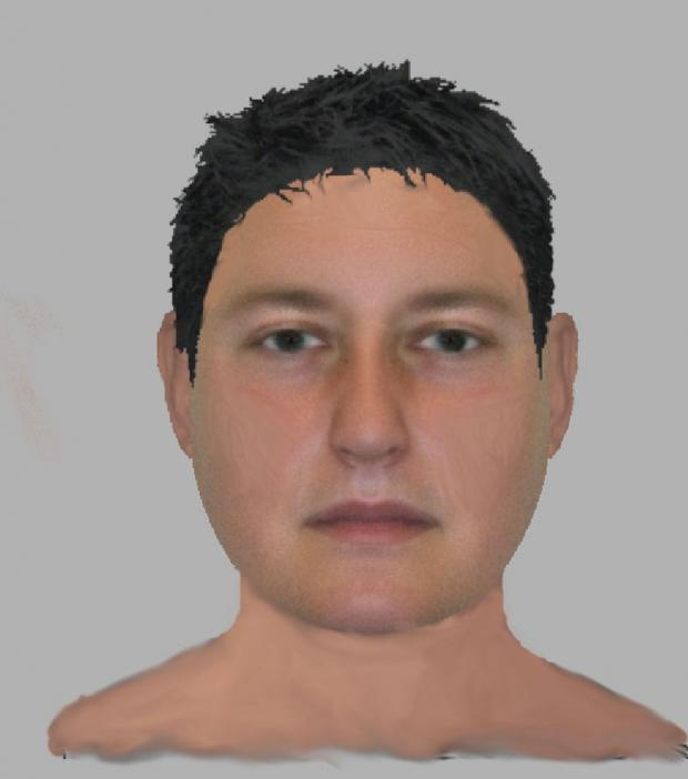 This Is Wiltshire: A e-fit of the Pipers Way suspect