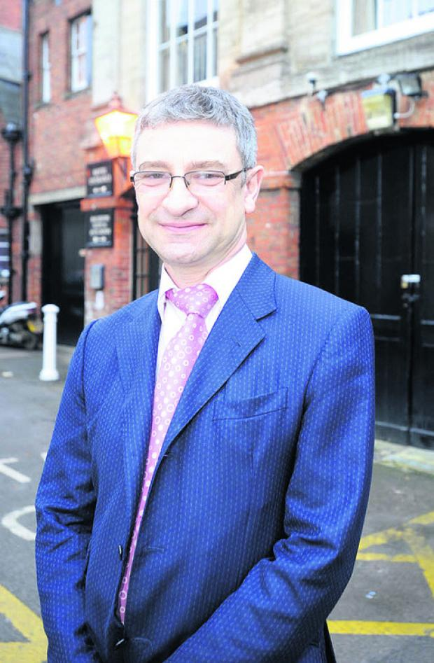 This Is Wiltshire: Rob Perks, Wessex Chambers chief executive