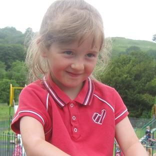 This Is Wiltshire: April Jones went missing three weeks ago in Machynlleth, mid-Wales (Dyfed Powys Police/PA)