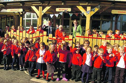 Outdoor all-weather classroom opens