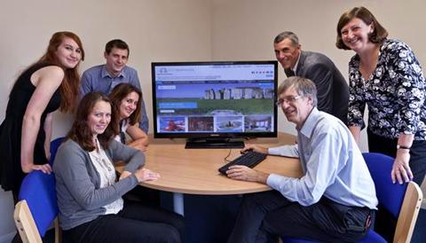 This Is Wiltshire: Visit Wiltshire team and online marketing group representative launch the VisitWiltshire website