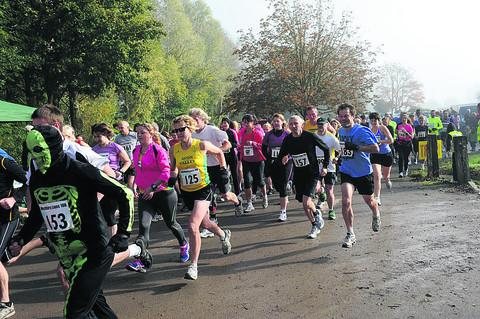 This Is Wiltshire: Double number of runners take on hill 10k