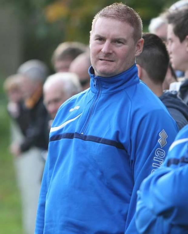 This Is Wiltshire: Michael McNally, who quit as Shrivenham boss at the weekend