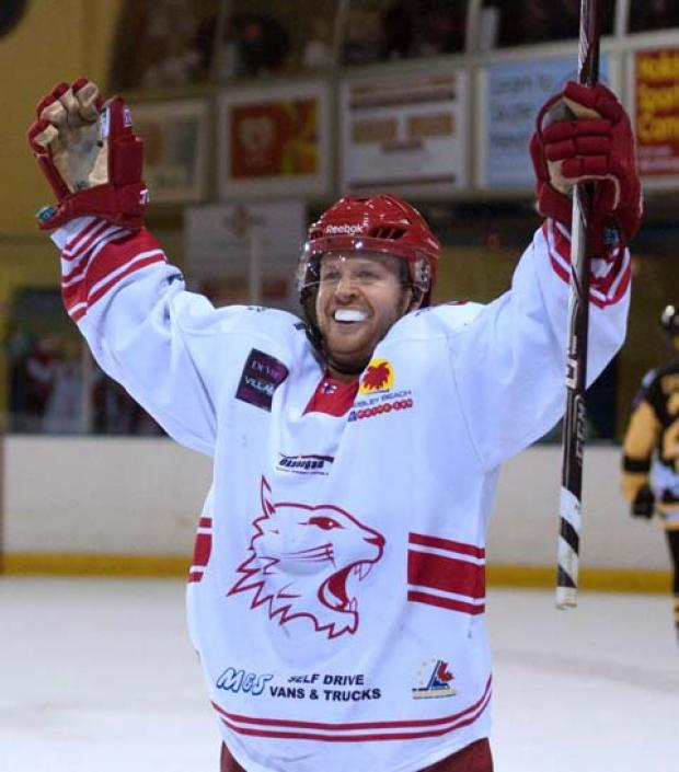 This Is Wiltshire: Jonas Hoog will not be returning to Swindon Wildcats next season