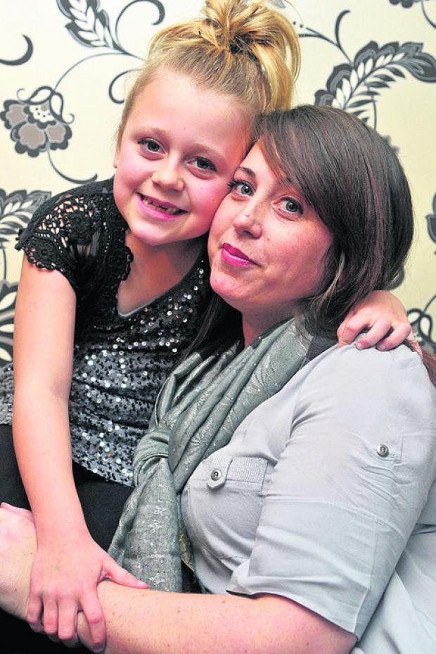 This Is Wiltshire: Phoebe Maddison and mum Michelle
