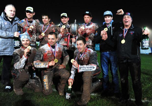 This Is Wiltshire: THE CHAMPIONS: The victorious Swindon Robins