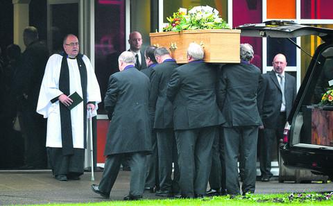 This Is Wiltshire: The funeral of Beverley Seabrook