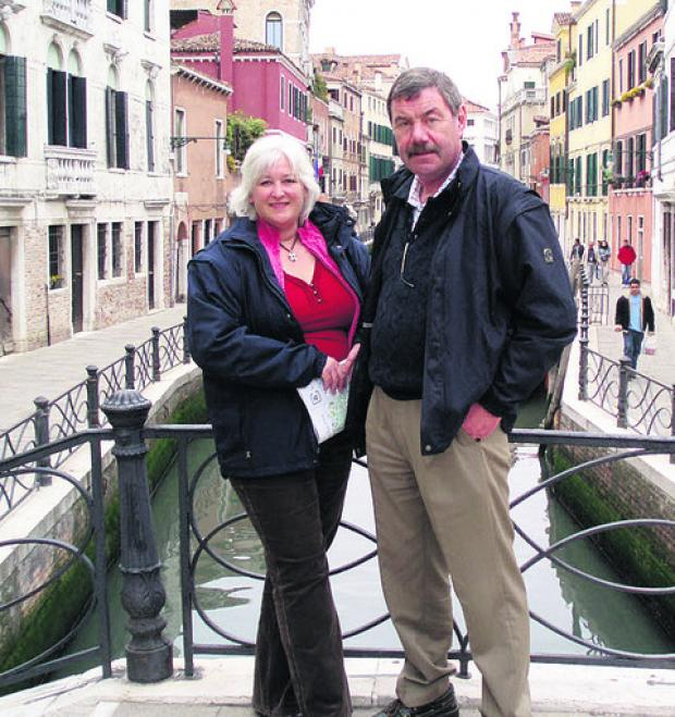 This Is Wiltshire: The late Paul Coventry and fiancee Belinda Wells
