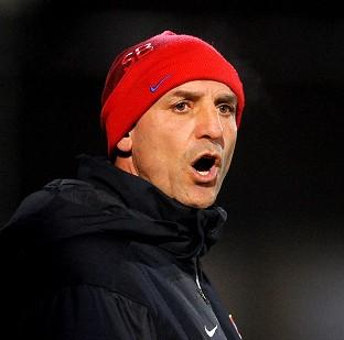 This Is Wiltshire: Steve Bould shared Arsenal fans' frustration on Wednesday night