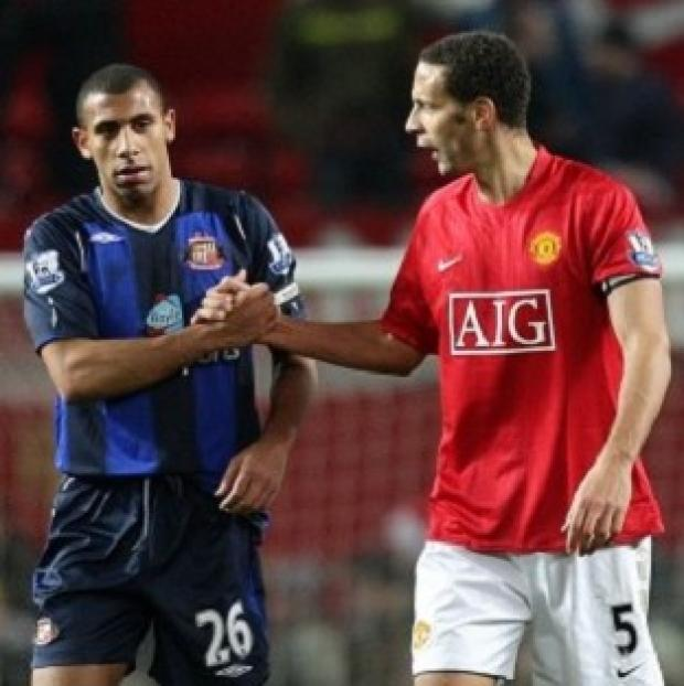 This Is Wiltshire: Anton Ferdinand, left, and Rio Ferdinand said they want to work with the Kick it Out campaign
