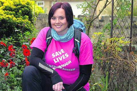This Is Wiltshire: Chippenham shop worker set for Everest charity trek
