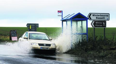 This Is Wiltshire: Find out about flood alleviation schemes planned for the town