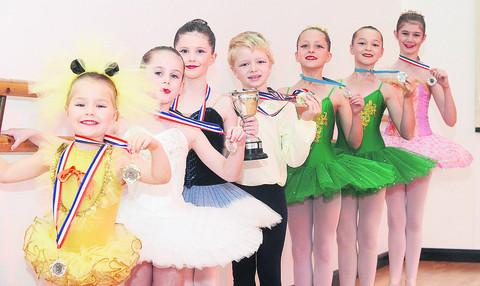 This Is Wiltshire: Members of the FitzGraham Academy of Dance