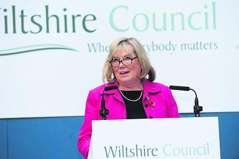 This Is Wiltshire: Wiltshire Council leader Jane Scott