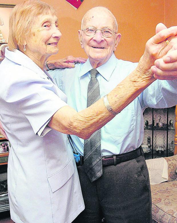 This Is Wiltshire: Granddad who loved dancing dies at 102