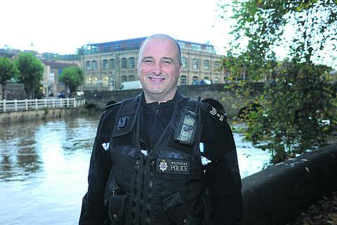 This Is Wiltshire: Sergeant Sean Brady is now looking after Bradford on Avon matters