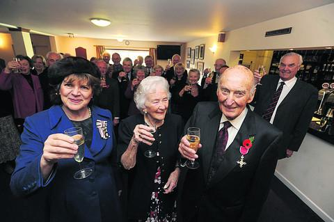 This Is Wiltshire: Peter and Pat Fisher with Lord Lieutenant Sarah Troughton