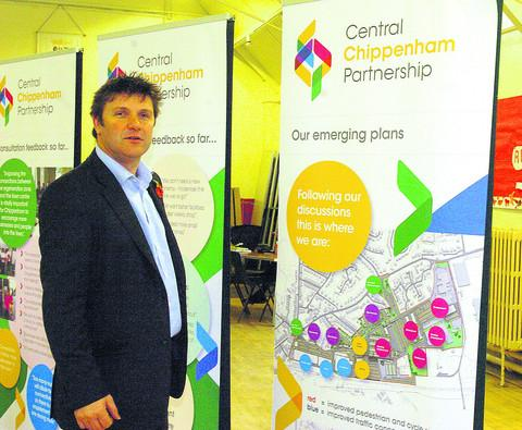 This Is Wiltshire: Wayne Locke of Ashteene with the development plans