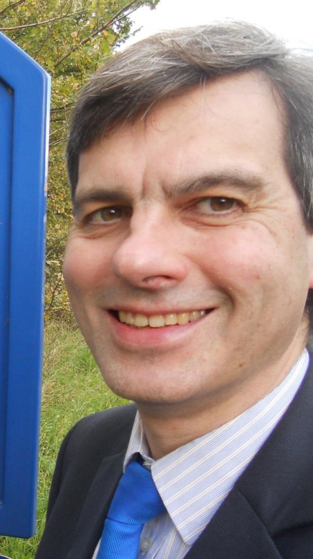 This Is Wiltshire: Steve Weisinger, who was elected as councillor for Blunsdon and Highworth