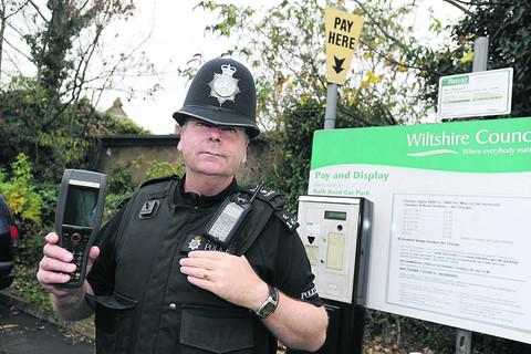 This Is Wiltshire: Sgt Phil Connor says abuse against traffic wardens will not be tolerated