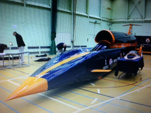 This Is Wiltshire: The Bloodhound Driving Experience simulator will give a flavour of what it's like to drive at 1,000mph in Marlborough on Saturday