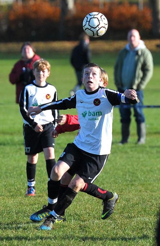 This Is Wiltshire: Action from Swindon Rangers Under 12s' 2-0 win over Ferndale