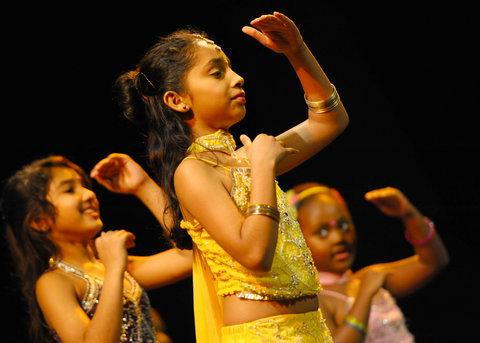 This Is Wiltshire: Kids show off dance skills at Wyvern Theatre