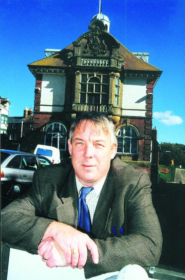 This Is Wiltshire: For four decades Nigel Kerton has been as familiar a sight around Marlborough as the Town Hall – a place where he has spent more hours than he can care to remember