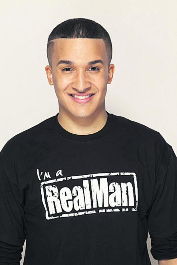 This Is Wiltshire: Jahmene Douglas, who is also backing Cosmopolitan magazine's Real Man campaign with Women's Aid