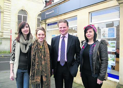 This Is Wiltshire: Jess Dubberley, Emily Young, Simon Jacobs and Kate Moore