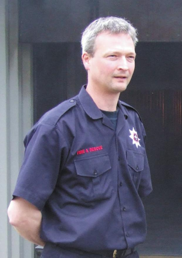 This Is Wiltshire: An inquest is taking place into the death of Steve Mills, of Malmesbury, who was fire services manager at Cotswold Airport