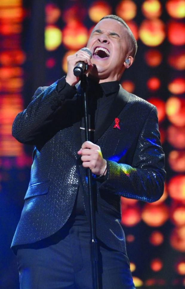 This Is Wiltshire: BELTING IT OUT Jahmene defeats his nerves to claim a place in the X Factor final