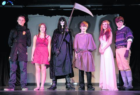 This Is Wiltshire: International Baccalaureate students at St John's who staged Mort, by Terry Pratchett