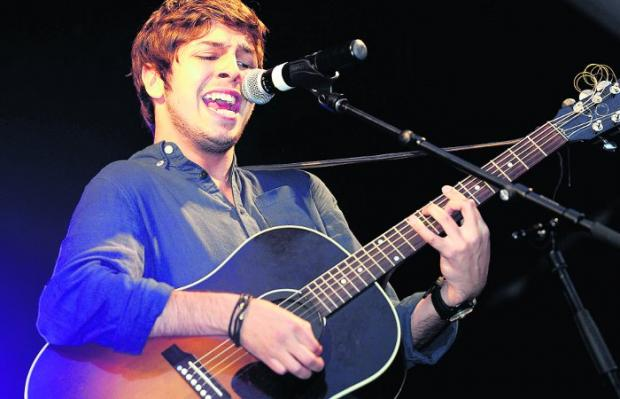 This Is Wiltshire: Young star Josh Kumra performs at the Big Arts Day in Lydiard Park